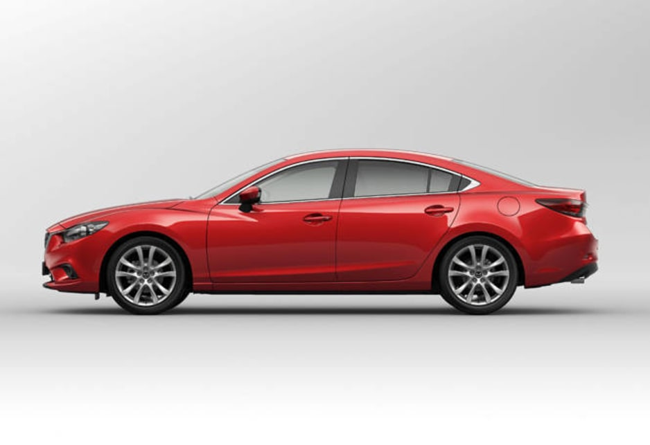 The new Mazda6 is one handsome devil of a car.
