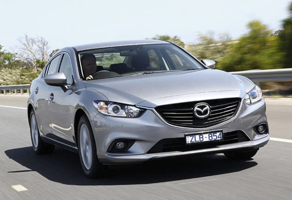 The new Mazda6 is bigger than the model it replaces and has excellent head-turning styling.