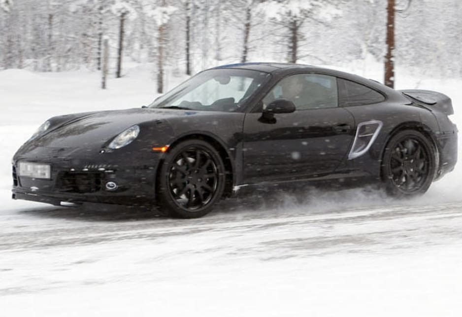 Porsche 911 998 spy shot - Car News | CarsGuide