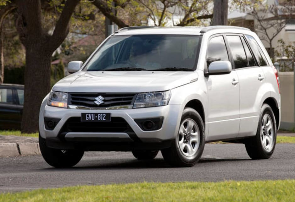 Call it a sign of the times: the new Suzuki's Grand Vitara has a frontwheel - drive version.