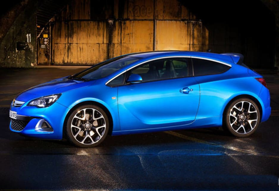 Now the Astra not only wears its proper badge, it's about to arrive in its hottest form yet.