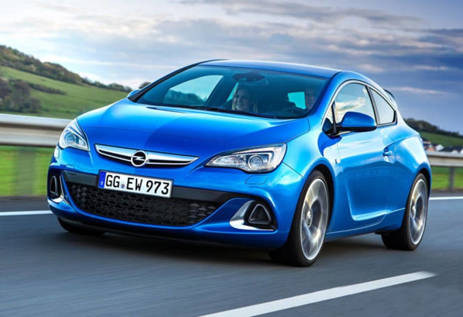 The OPC badge – Opel Performance Centre – means the Astra is shot from standstill to 100km/h in six seconds, thanks to a two-litre direct-injection turbo four-cylinder that produces 206kW and 400Nm.