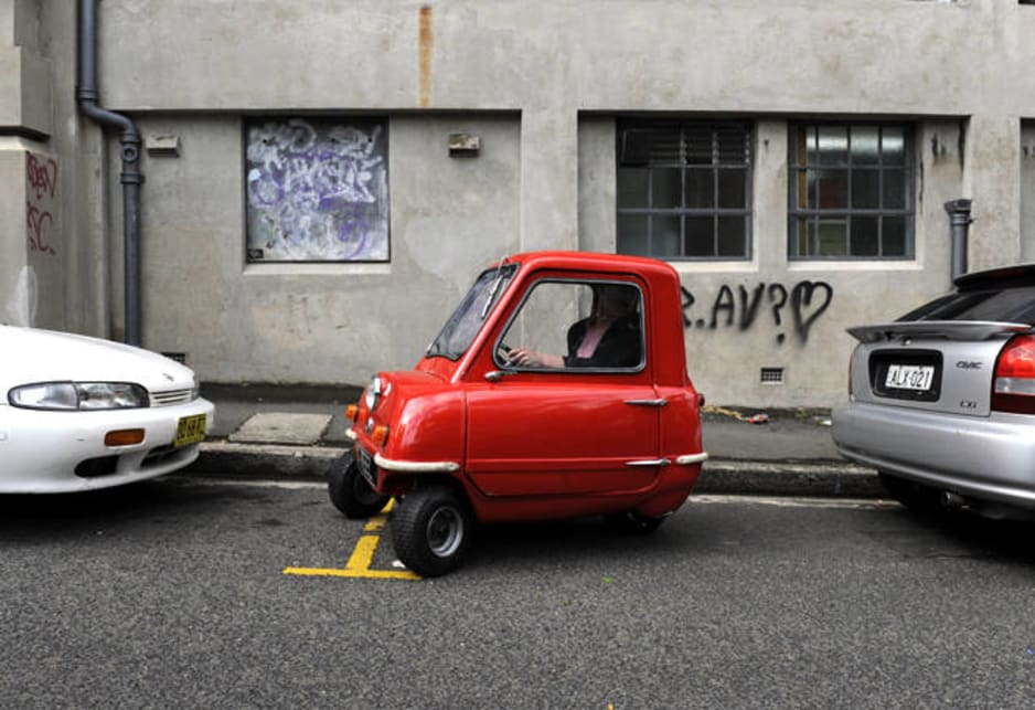 World's smallest car in Sydney - Car News | CarsGuide