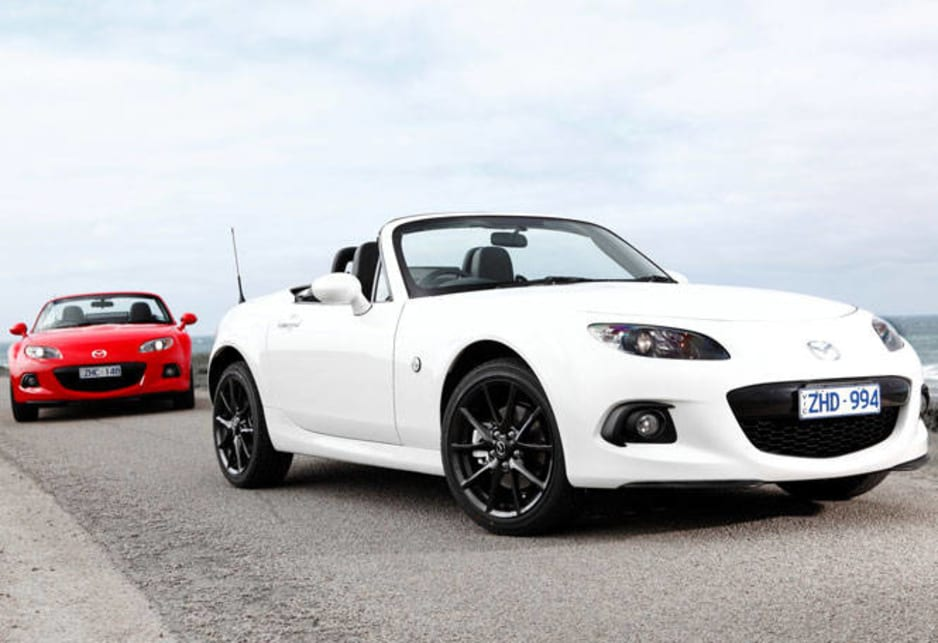 Although the MX-5 has a little less grunt than the Toyota 86 – the darling of the moment – it revs cleaner, sounds smoother and has a more even power delivery across the rev range.