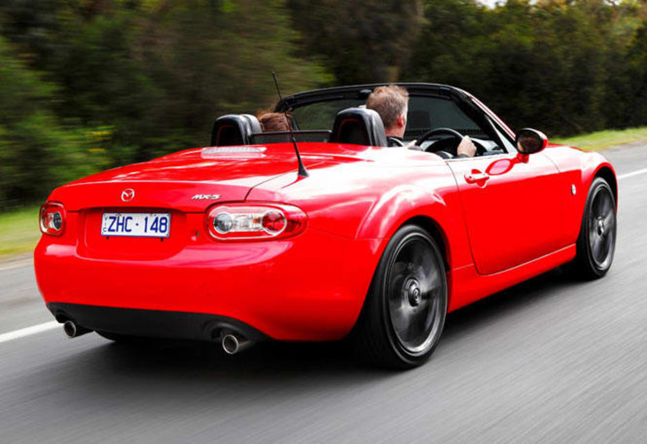 The MX-5's 2.0-litre engine is unchanged (118kW/188Nm).