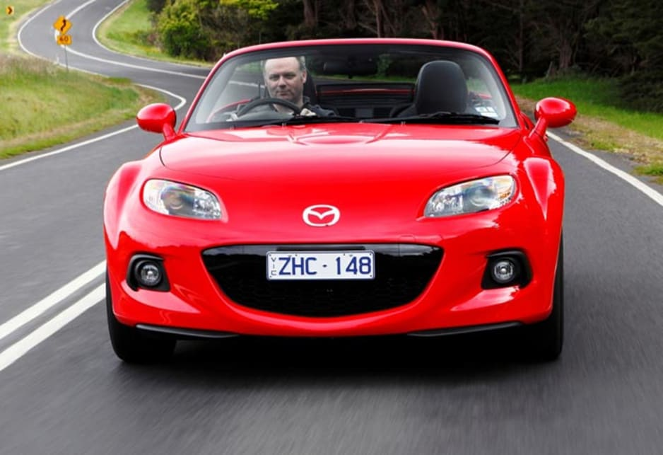 Mazda's got to do something about the price. At fifty-grand they're dreaming.