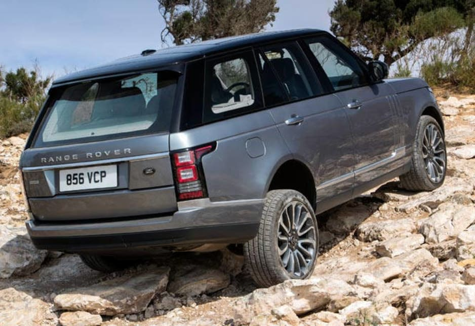 The fourth-generation Rangie uses an aluminium monocoque chassis and alloy panels to trim more than 300kg of weight from most models.