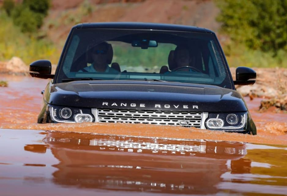 The traditional Range Rover look has been refined and given a sportier makeover.