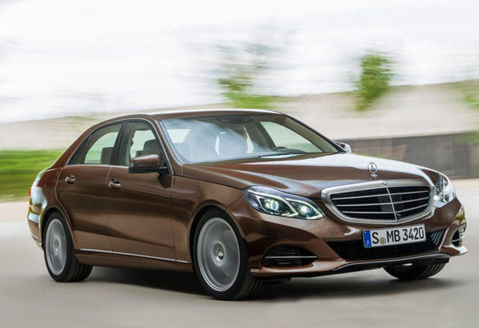 The highlights are a bi-turbo V6 petrol E400 that will give Mercedes a vehicle to rival BMW's 535i and a diesel hybrid that uses just 4.1 litres over 100km.