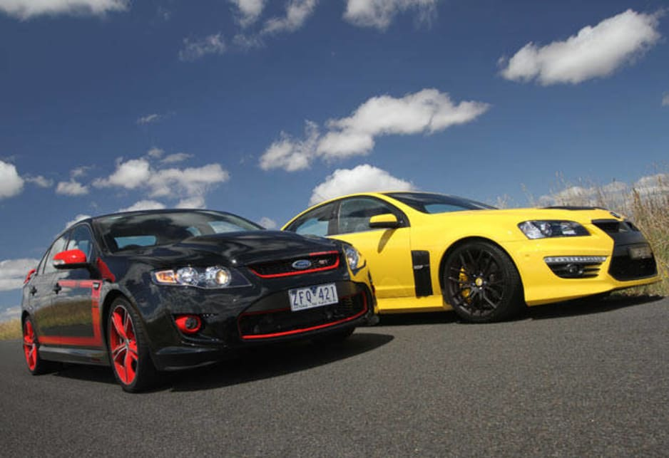 HSV GTS vs FPV GT 2013 Review | CarsGuide