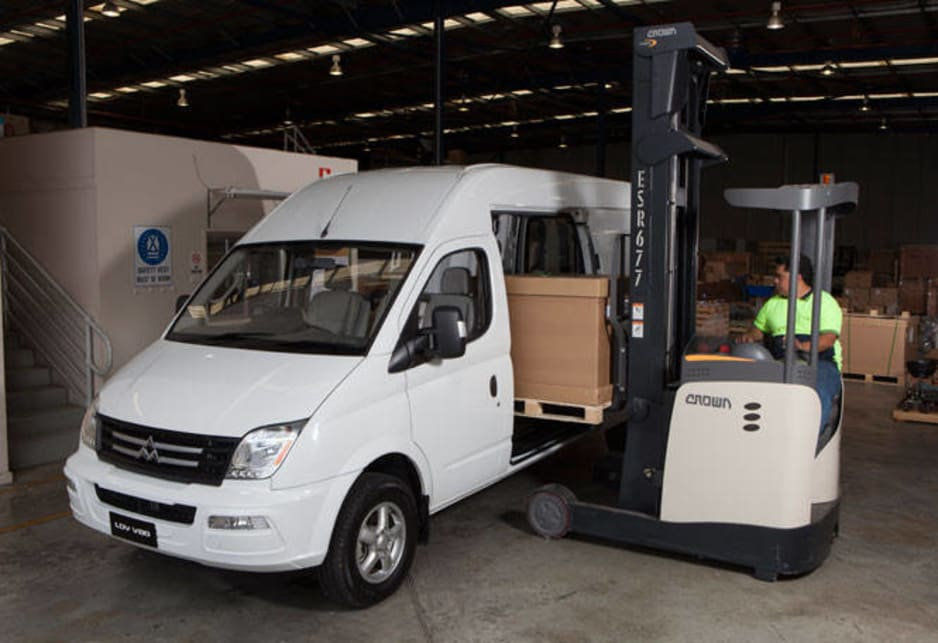 The long-running British commercial vehicle brand was bought lock, stock and barrel by SAIC in 2009 and from that - as well as joint ventures with GM and Volkswagen - was born the new LDV V80 van range now on the market in Australia.