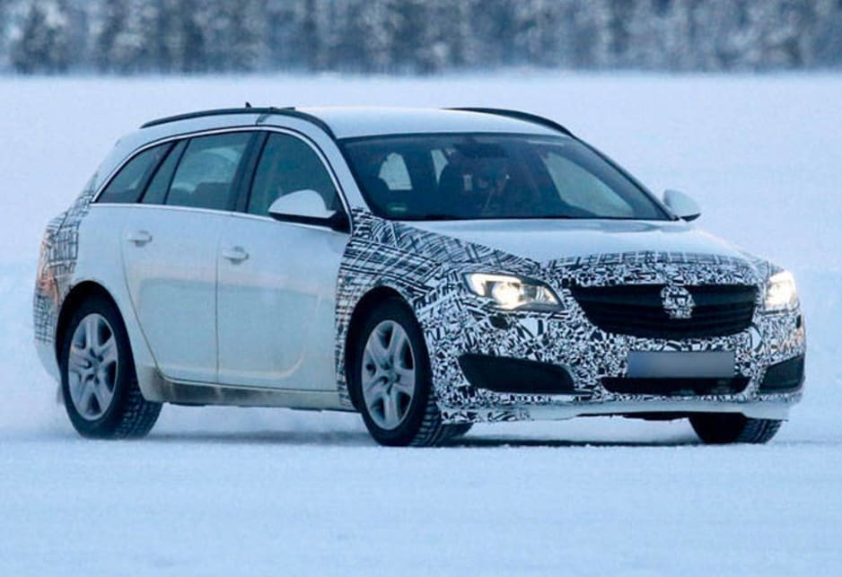 Opel is working hard to gain traction in Australia but should get a boost from an updated Insignia.