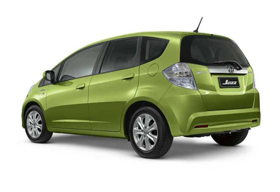 honda jazz hybrid review video carsguide. Black Bedroom Furniture Sets. Home Design Ideas