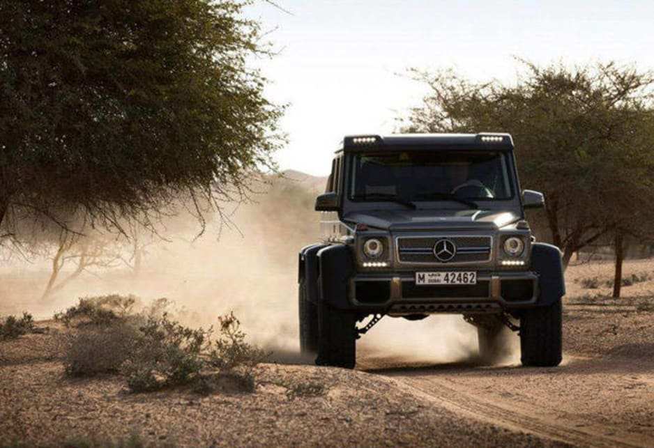 mercedes benz g63 amg 6x6 not for us   car news carsguide