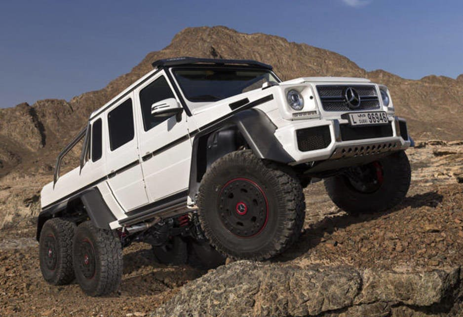 mercedes-benz g63 amg 6x6 not for us - car news | carsguide