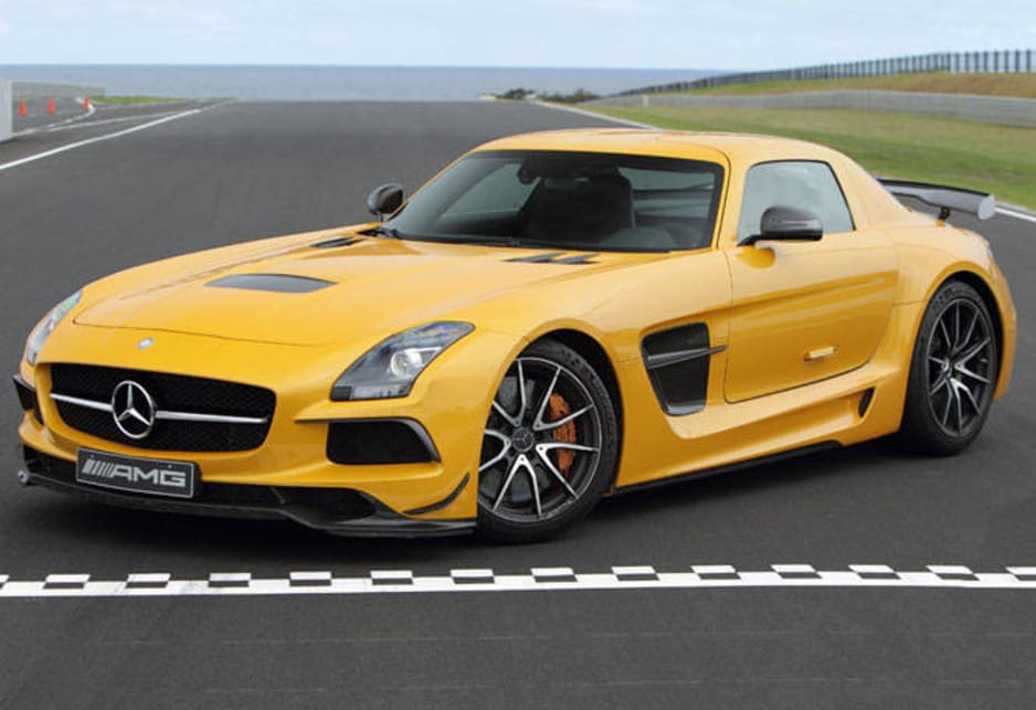 mercedes benz sls amg black series review carsguide