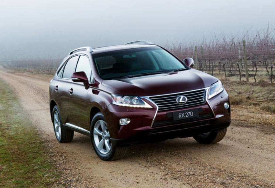 To capitalise on the growing success of SUVs in Australia, Lexus last year introduced a two-wheel drive version of their popular RX 4WD.