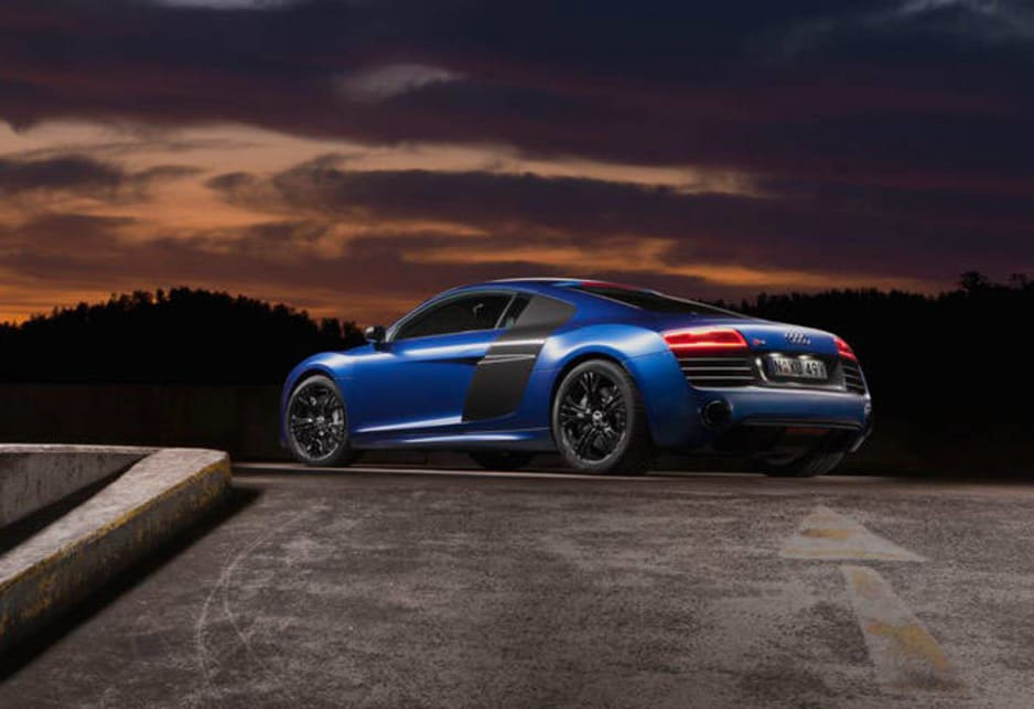 The new 5.2-litre all-wheel-drive R8 V10 Plus is priced at $408,200.