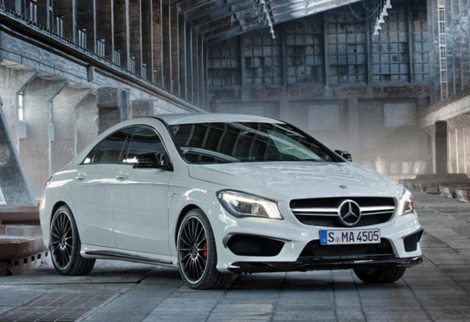 2014 Mercedes CLA45 AMG review  CarsGuide