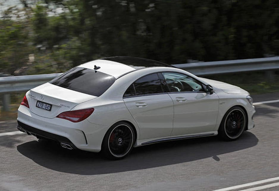 Mercedes Benz Cla45 Amg Images Leaked Car News Carsguide