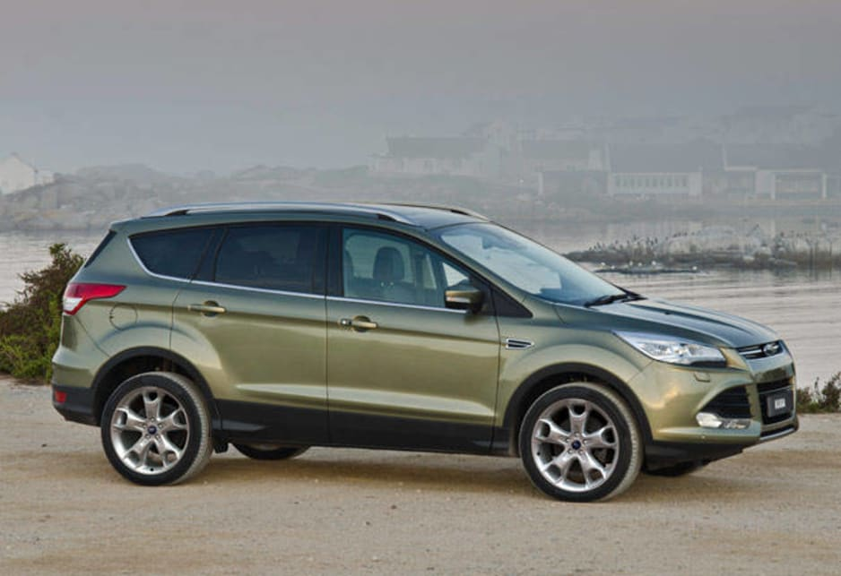new ford kuga suv will ring 000 if you crash car news. Black Bedroom Furniture Sets. Home Design Ideas