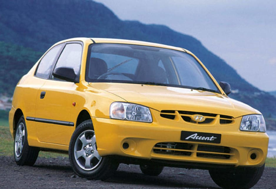 2000 Hyundai Accent.