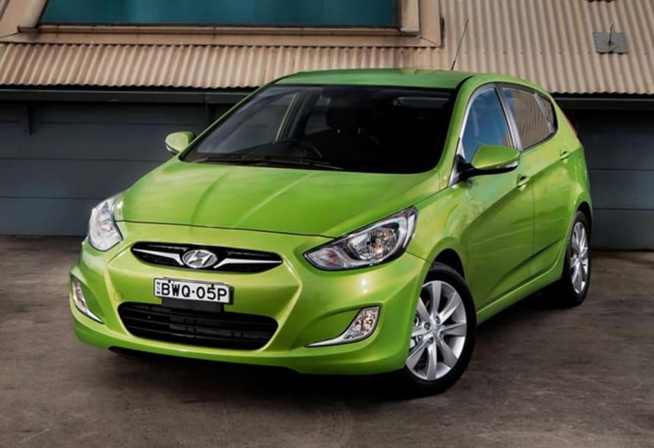 2011 Hyundai Accent.