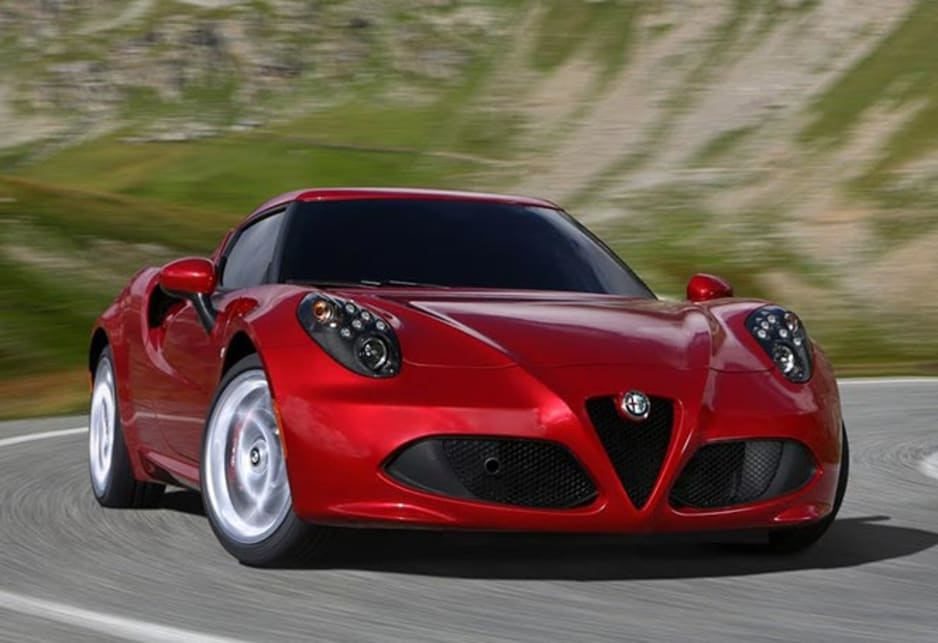 Alfa Romeo 4C new photos