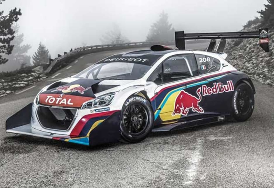 Video Peugeot 208 T16 Set For Pikes Peak