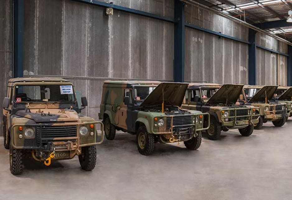 ADF selling off military vehicles to the public - Car News | CarsGuide