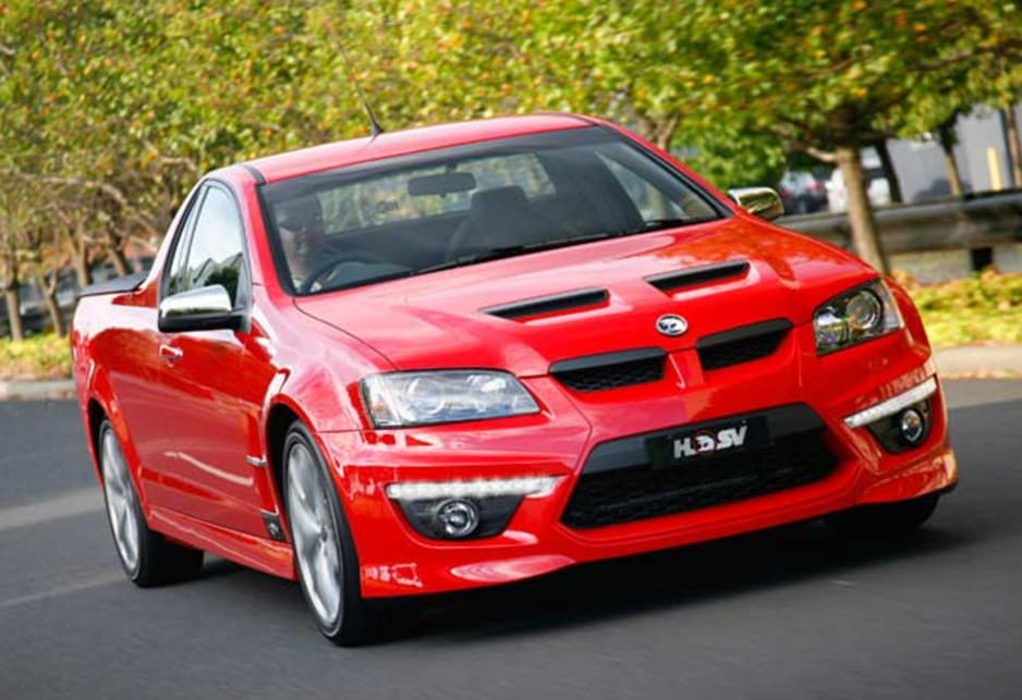 Limited edition Holden HSV GXP