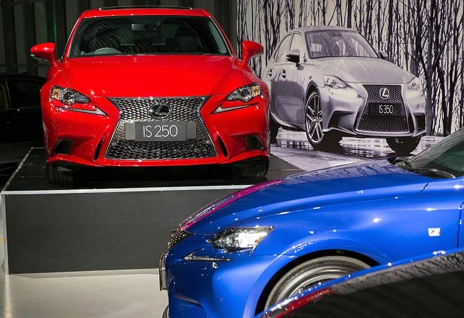 Lexus IS launch