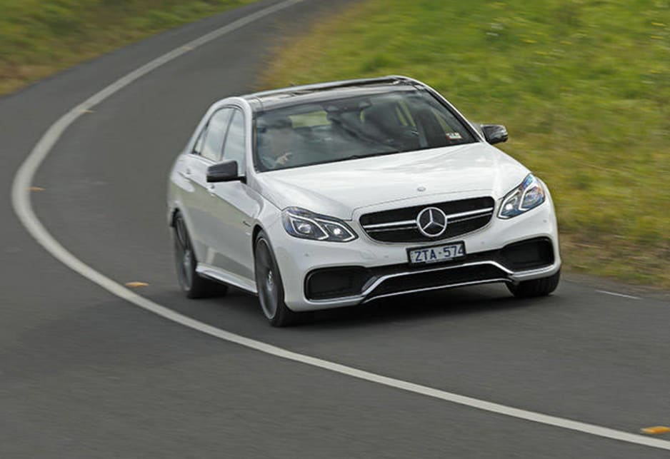 Mercedes benz e63 amg s review carsguide for How much is a mercedes benz amg