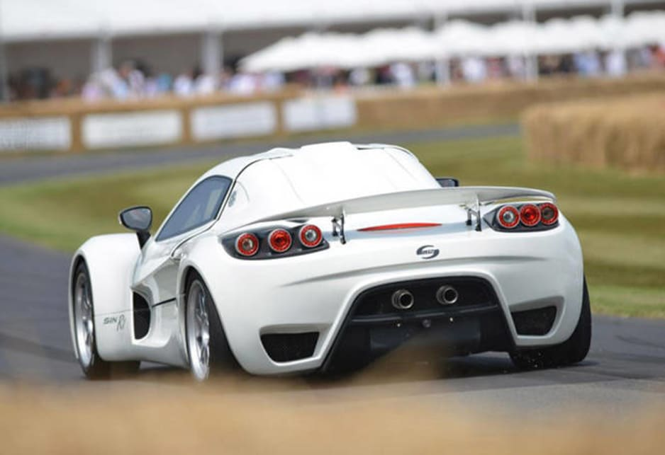 Corvette-powered Sin R1 supercar at Goodwood - Car News | CarsGuide