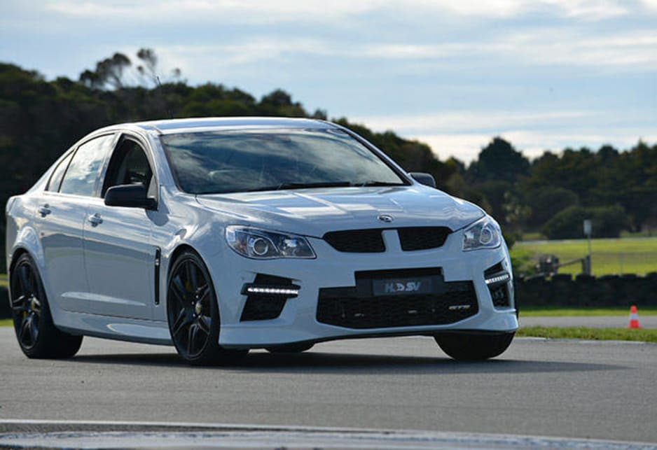 The HSV GTS automatic is not just an alternative to the manual transmission, it's a completely different car.