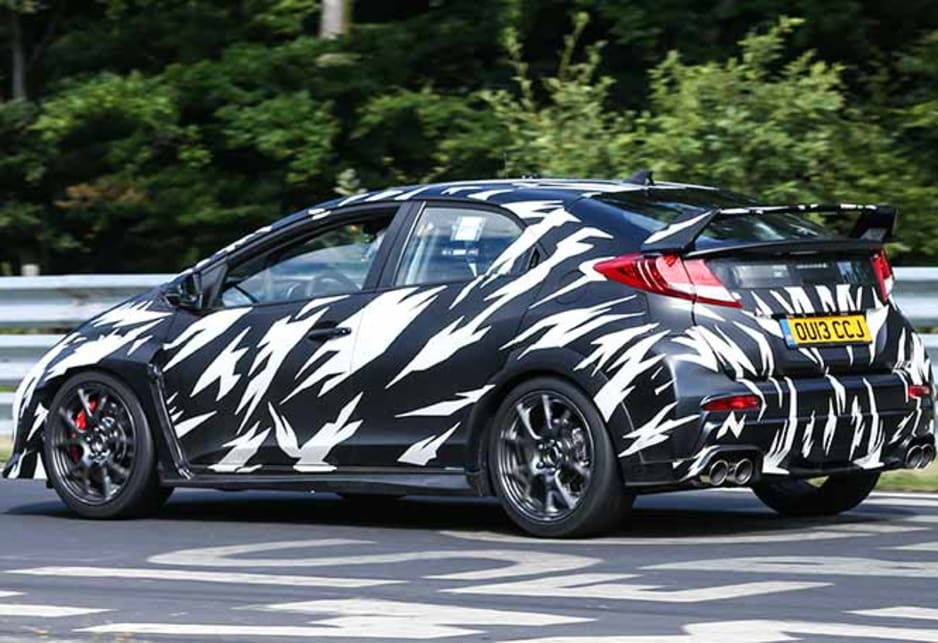 honda civic type r due in 2017 car news carsguide. Black Bedroom Furniture Sets. Home Design Ideas