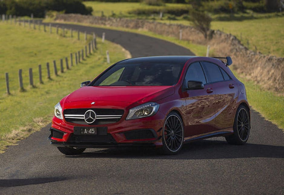 MercedesBenz A45 AMG review  video  CarsGuide