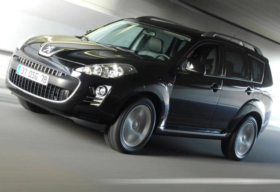 peugeot 4007 2010 review | carsguide