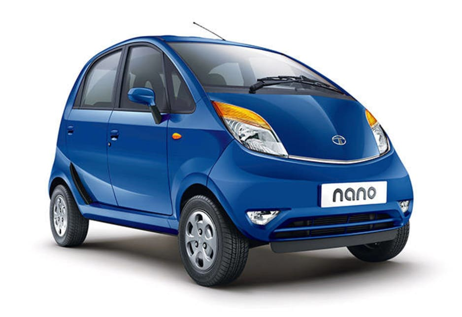 The original idea was to put the Nano within reach of India's masses, but after a year there's been a re-think and it is now being plugged as a mini for the city.
