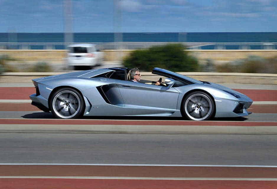 Nothing comes closer to the slingshot immediacy of the Aventador with a claimed 2.9 second blink from rest to 100km/h.