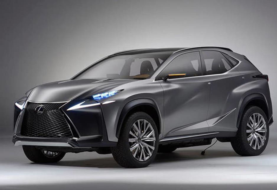 Lexus LF-NX concept revealed - Car News | CarsGuide