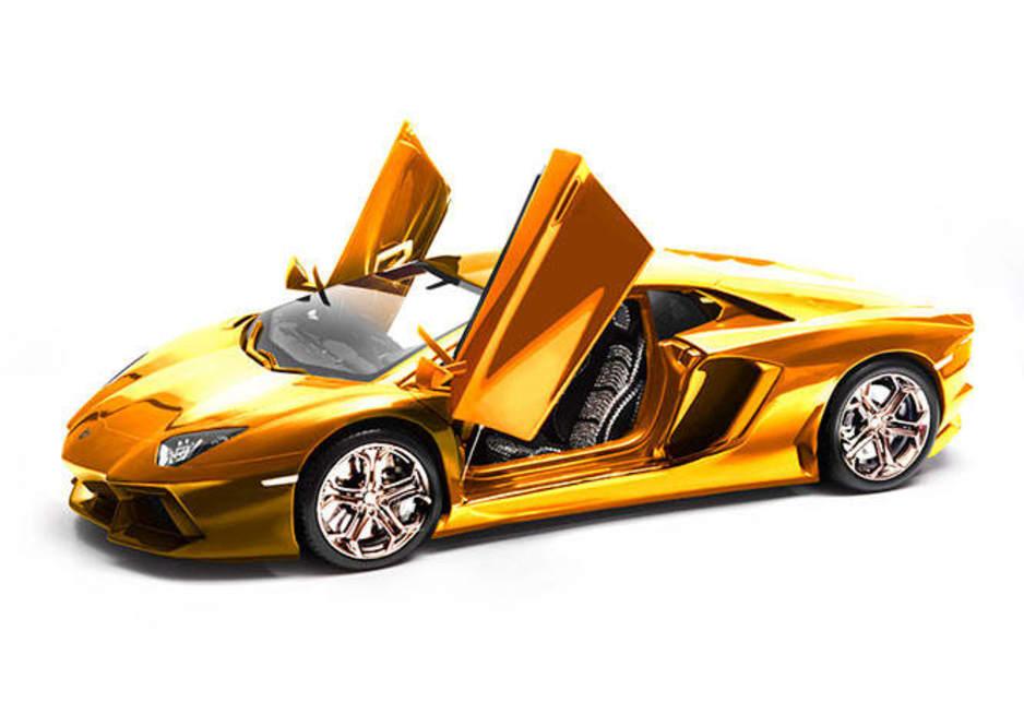 solid gold 8m lamborghini model planned car news carsguide