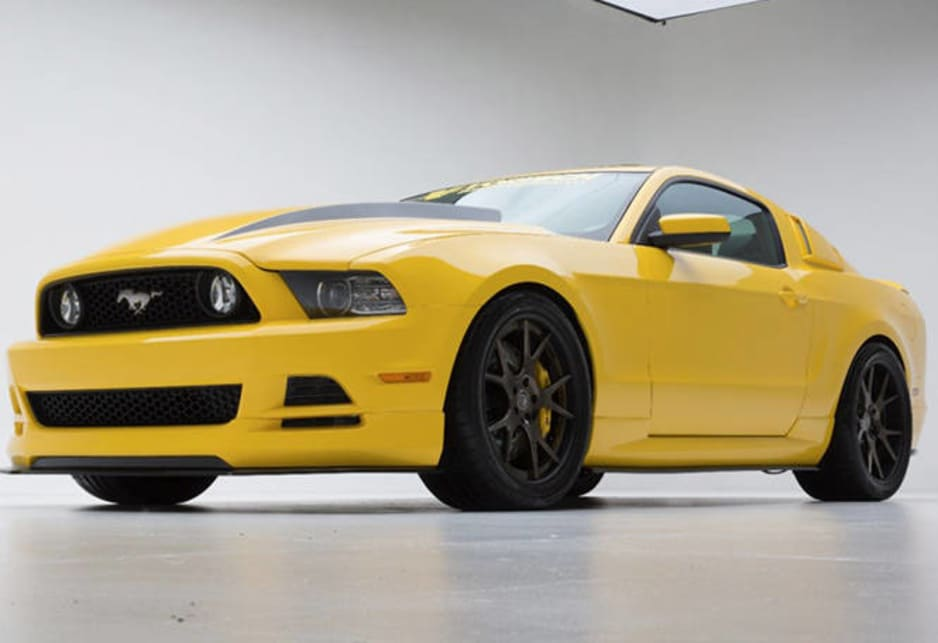 Ford Yellow Jacket Mustang For Sema Car News Carsguide