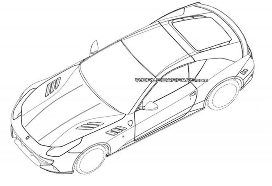 New Ferrari California Drawings Leaked
