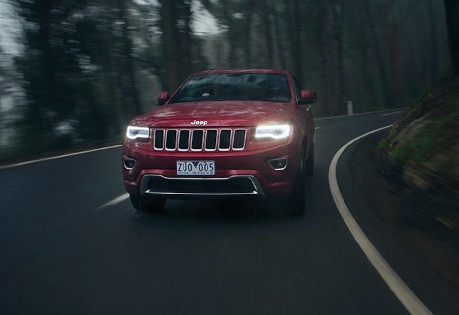 Jeep Grand Cherokee Overland 2014 Review