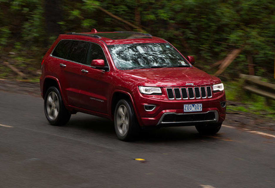 2014 jeep grand cherokee overland review carsguide. Black Bedroom Furniture Sets. Home Design Ideas