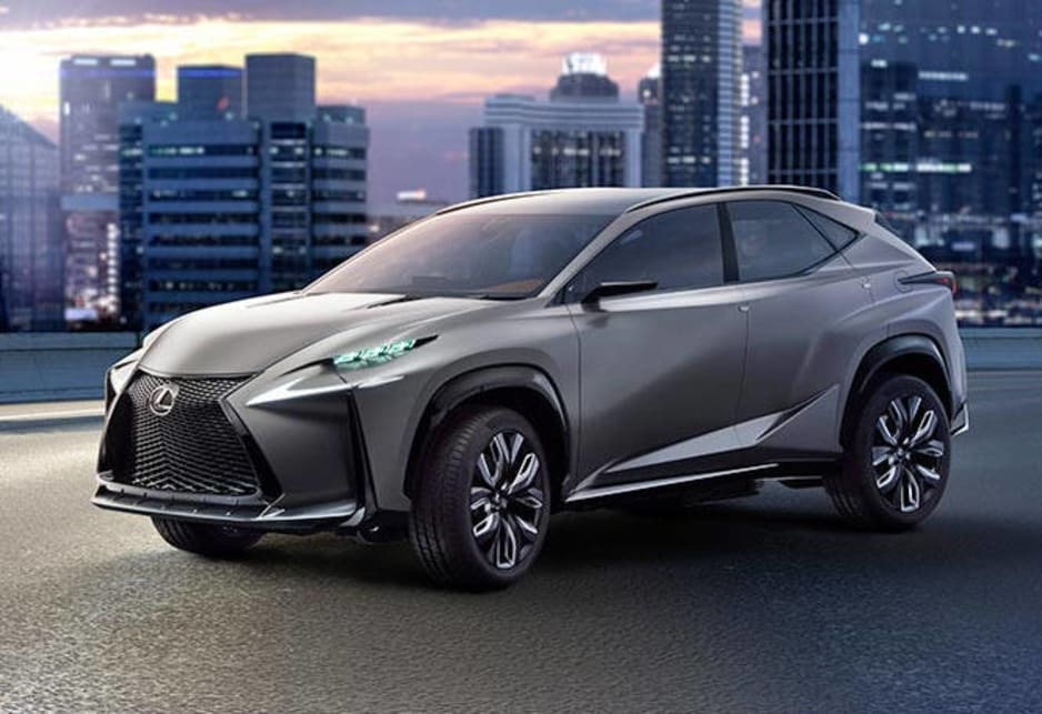 Lexus LF-NX concept updated - Car News | CarsGuide
