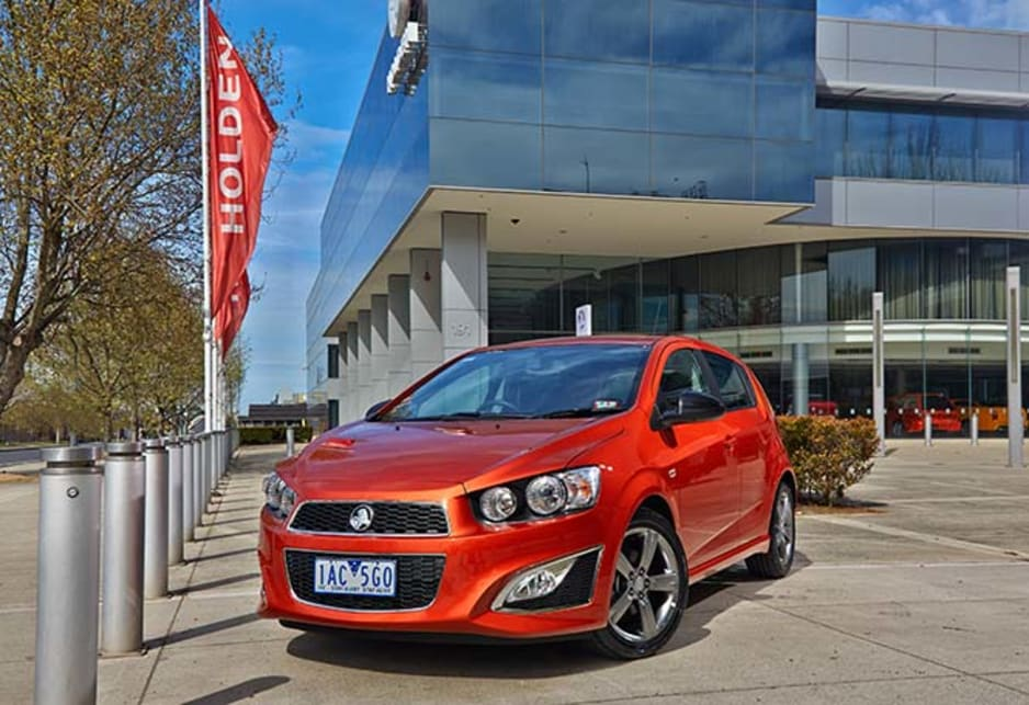 Holden Barina in standard format is a chunky looking machine that takes its own direction in styling - and we admire the designers for that.