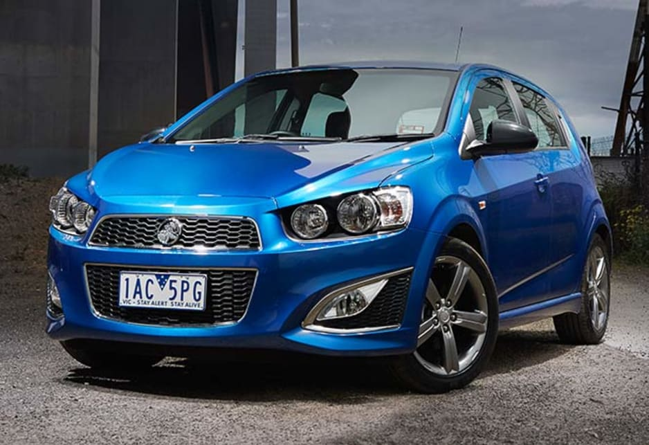 GM's advanced MyLink infotainment system is naturally a feature of the Barina RS.