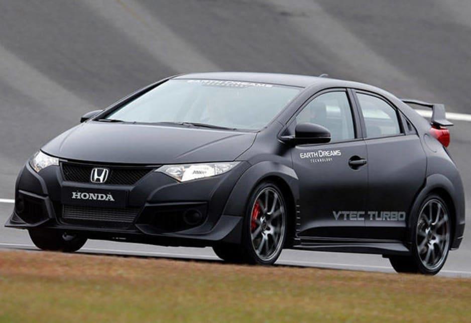 Elegant Honda Civic Type R Prototype